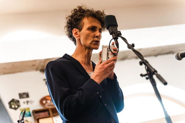 Christian Reiner beim Saalfelden Jazz Fest 2020 (c) Michael Geißler