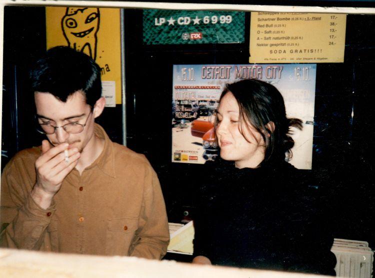 Catarina Pratter und Martin Stepanek 1997