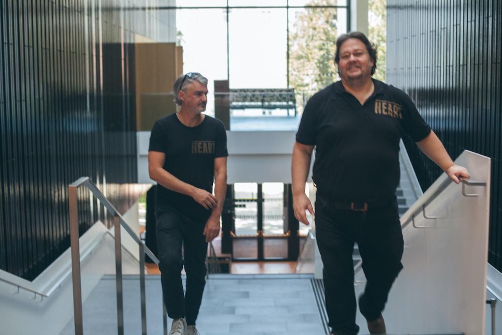 Chris Koubek & Stefan Meister (c) Natália Zajačiková