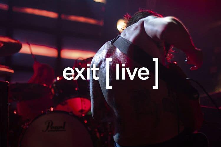 Logo Exit Live