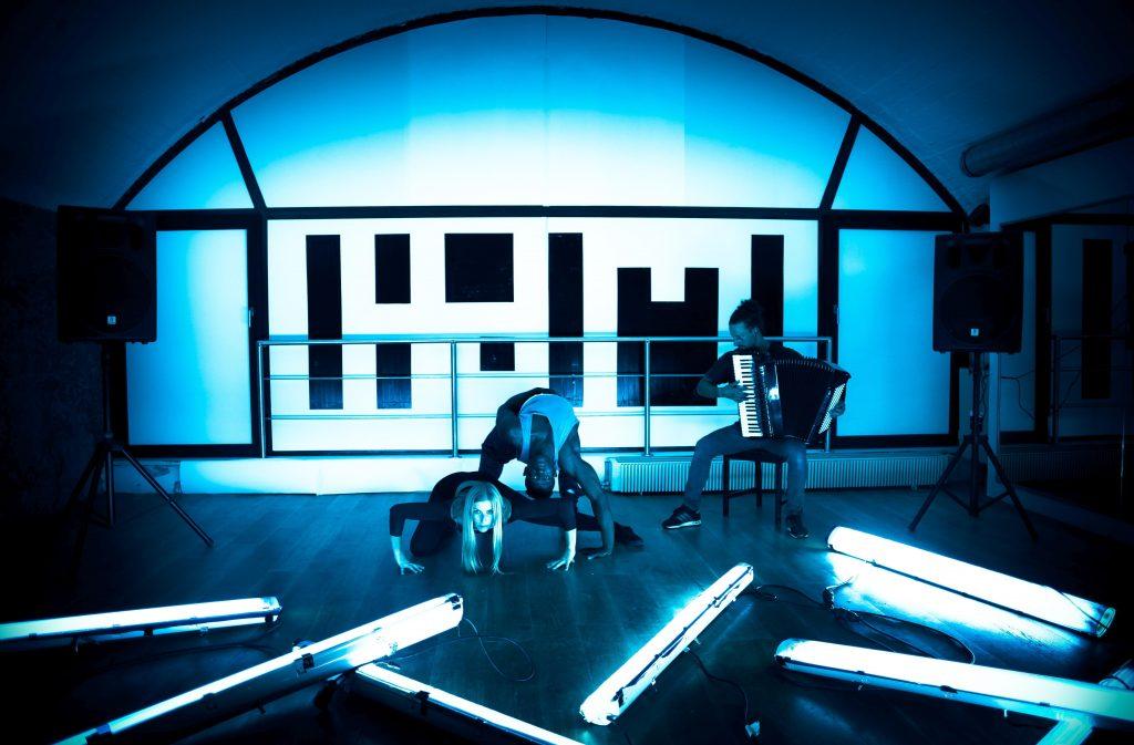 Ferdinand Holzmann und Tänzer © HdM.sub