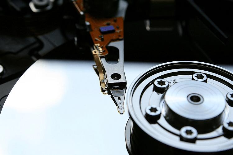 Bild Festplatte