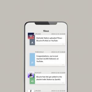 iOS feed, Screenshot (c) ForTunes