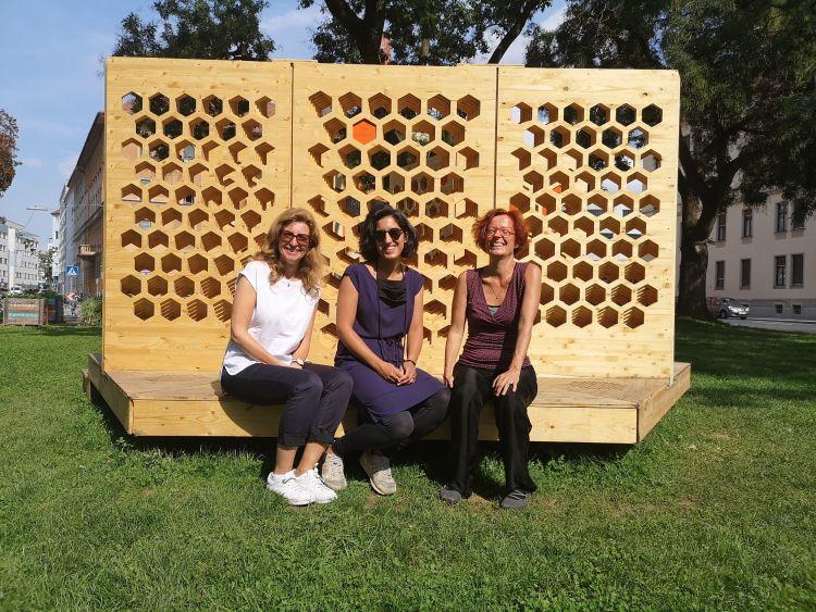 Bild Humming Room; Elisabeth Harnik, Jamilla Balint, Milena Stavric