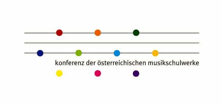Logo der Konferenz der österreichischen Musikschulwerke (KOMU)