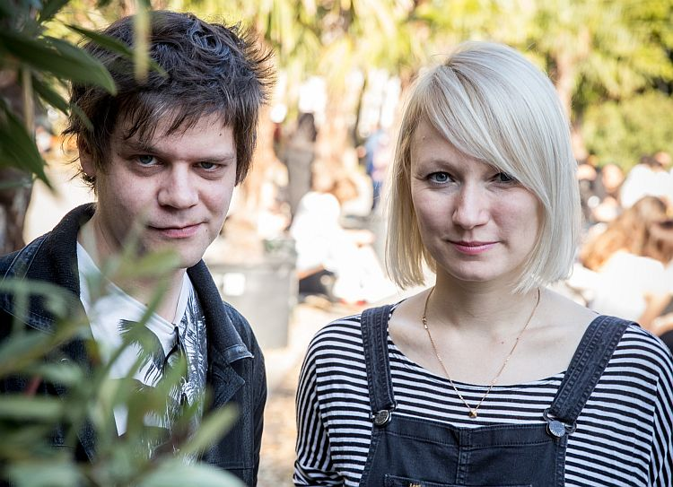 Bild Katharina Seidler und Nino Mandl