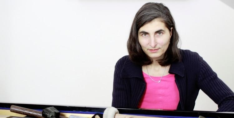 Katharina Klement, die Intendantin des Piano Festivals © Rania Moslam