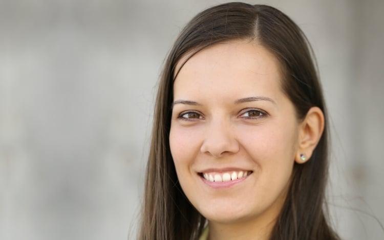 Hier sollte ine Bild der Musikvermittlerin Katja Frei stehen.