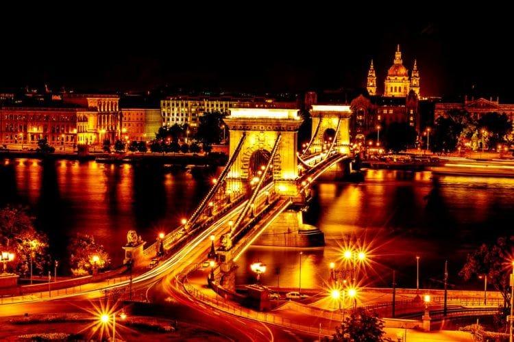Bild Kettenbrücke Budapest