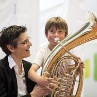 Bild Kinderfestspiele Elisabeth Fuchs und Gustav