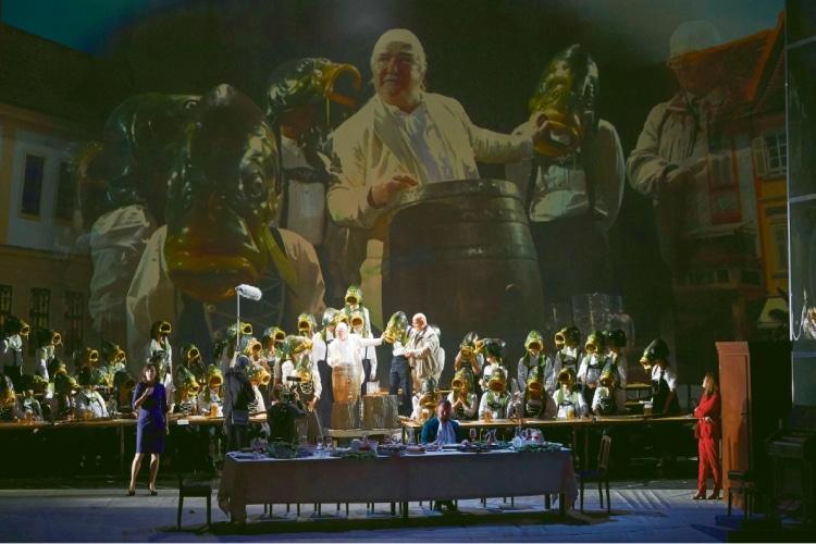 Durs Grünbein, Johannes Maria Staud: Die Weiden, Inszenierung: Andrea Moses, Wiener Staatsoper 2018: © Wiener Staatsoper / Michael Pöhn