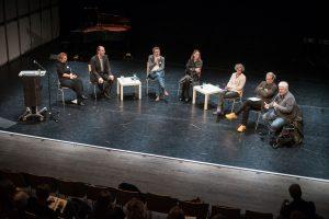 Tagung Publikumsvermittlung in der Neuen Musik, Podiumsdiskussion (c) Susanne Reiterer
