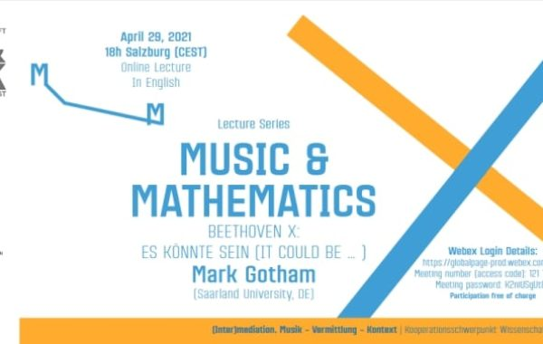 2 Online-Vorträge in der Reihe MUSIK & MATHEMATIK
