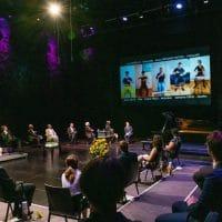 Musiker*innen des Klangforum Wien mit einem digitalen musikalischen Kommentar zur Corona Pandemie