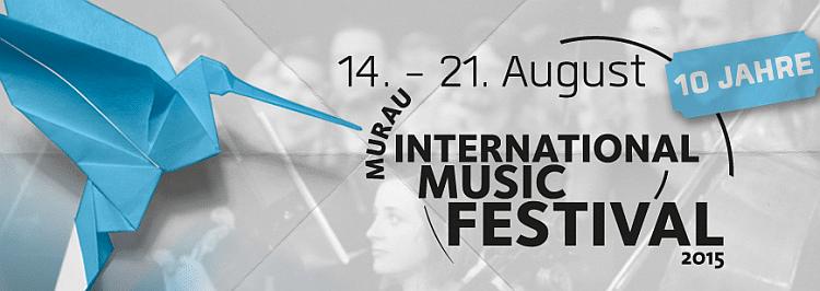 Logo Murau International Music Festival