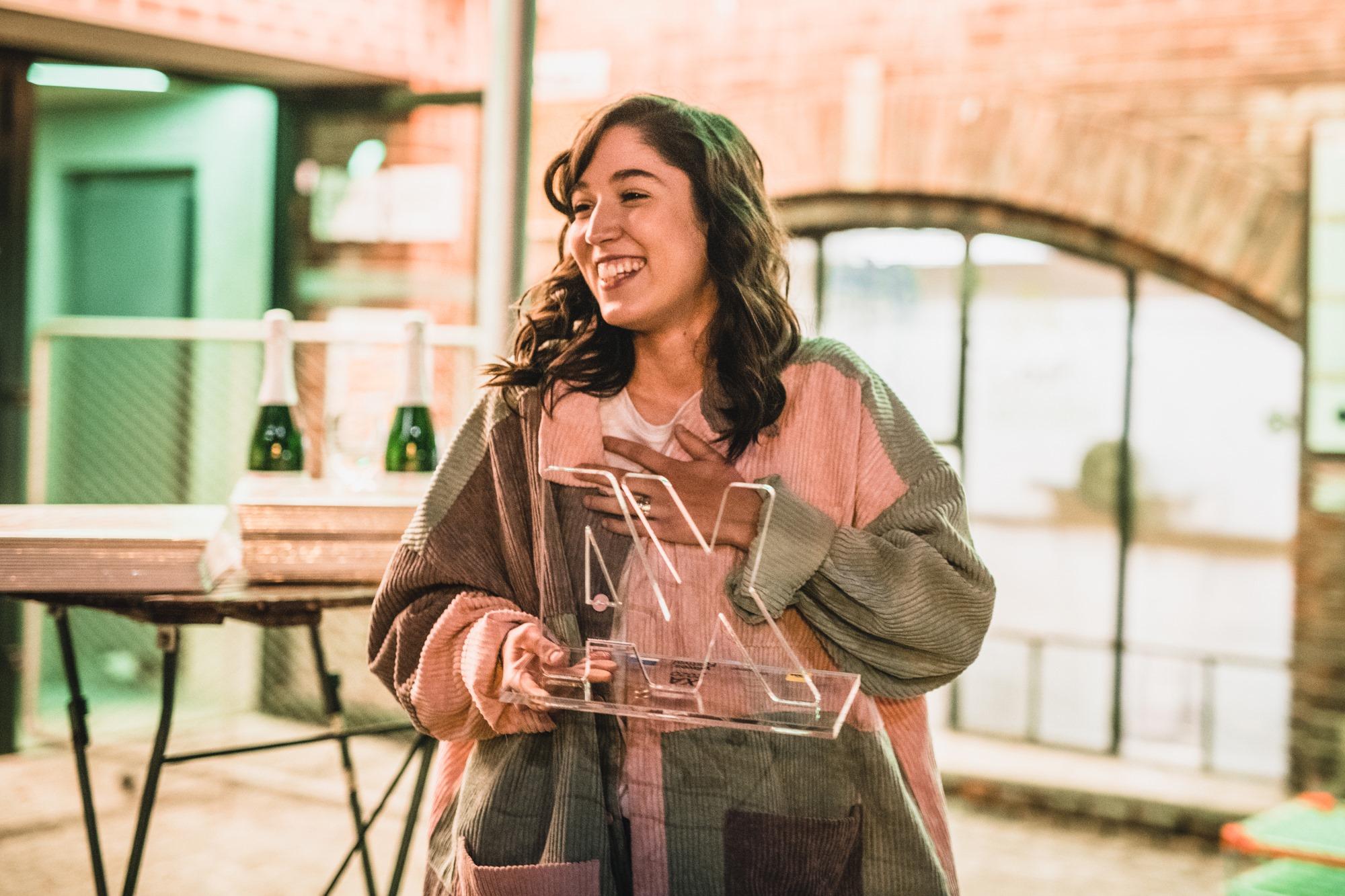 Die Gewinnerin des XA Music Awards 2020 OSKA