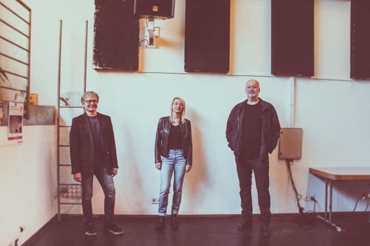 Bild Wolfgang Descho (Geschäftsführer), Susanna Kuschnig (PR / stellvertr. GF), Wolf Arrer (Programmleiter / Booking)