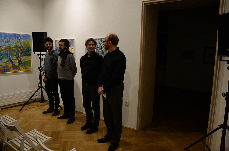 Bild v.l.n.r Alexander Bauer, Marco Döttlinger, Martin Losert, Achim Bornhöft