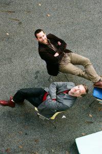 Die Intendanten der Musiktheatertage Wien: Thomas Desi und Georg Steker
