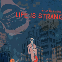 """Cover """"Life is a stranger"""""""