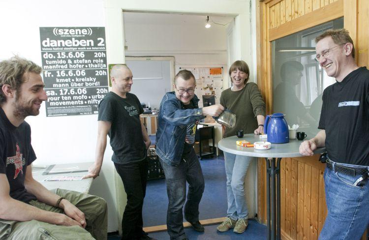 Bild Szene Wien Team & Rainer Krispel